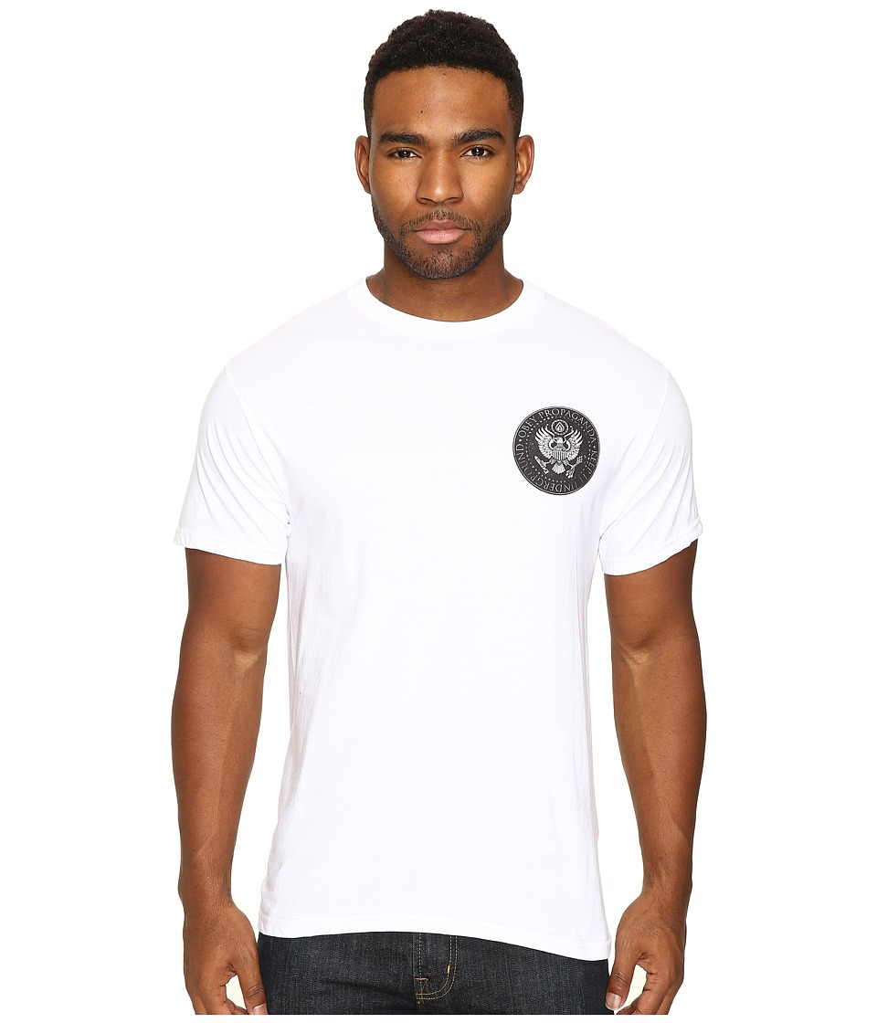 Obey - Oil Eagle (White) Men's T Shirt