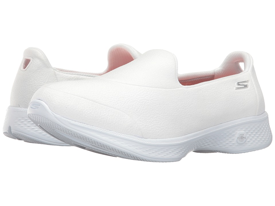 SKECHERS Performance - Go Walk 4 - Inspire (White) Women's Shoes