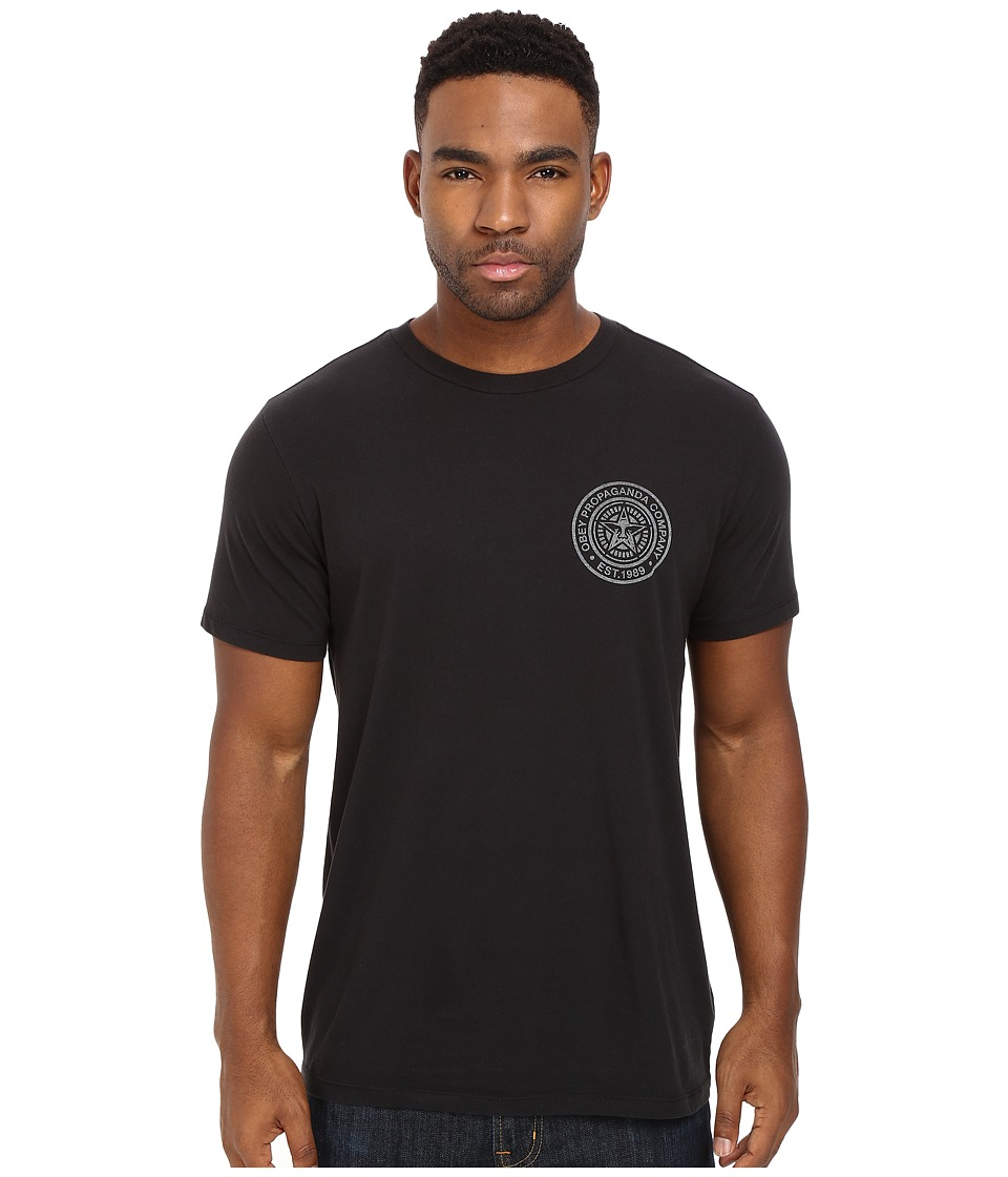 Obey - Obey Propaganda Company (Black) Men's T Shirt