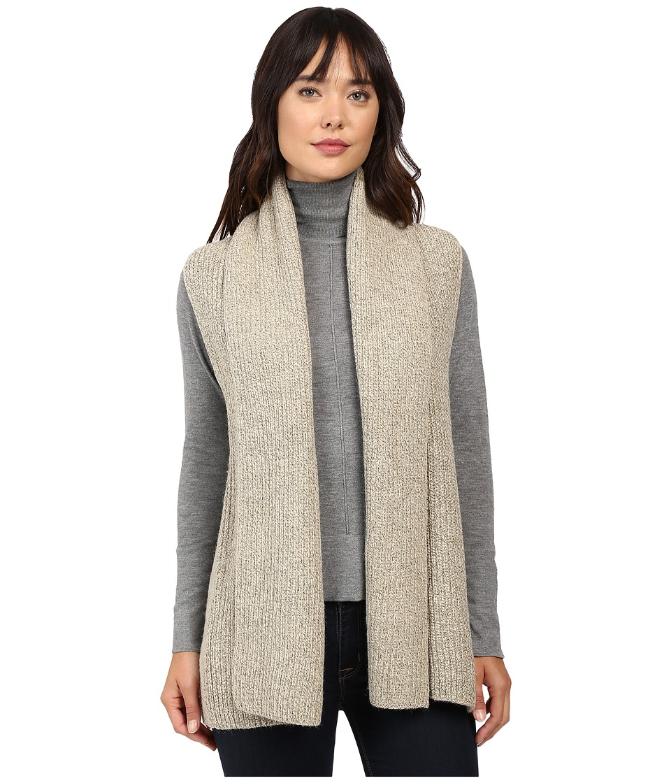 Christin Michaels - Willow Knit Vest Cardigan (Beige) Women's Sweater