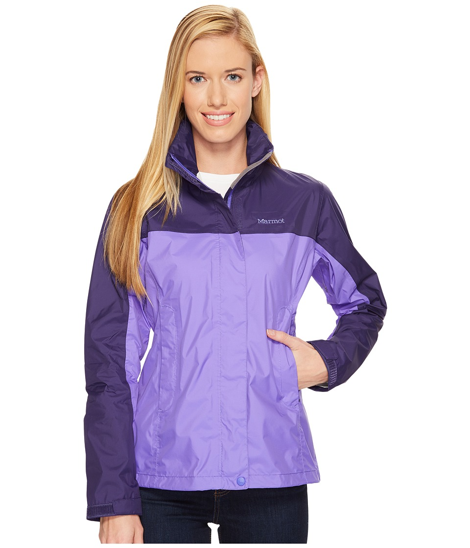 Marmot - PreCip(r) Jacket (Electric Iris/Midnight) Women's Jacket