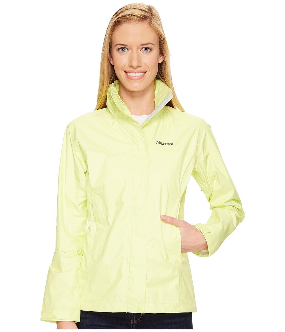 Marmot PreCip(r) Jacket (Sunny Lime) Women