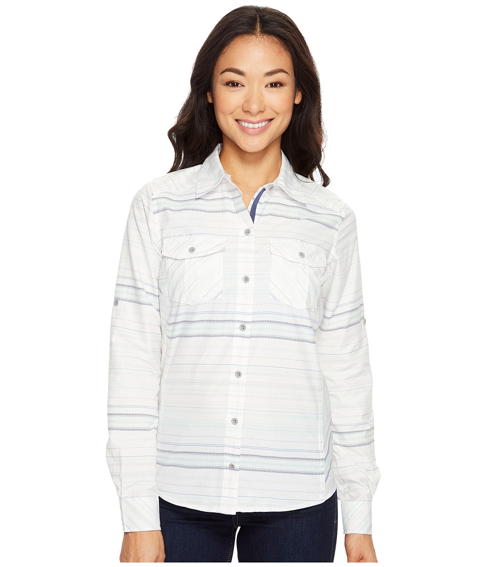 Marmot - Lillian Long Sleeve (Monsoon) Women's Long Sleeve Button Up