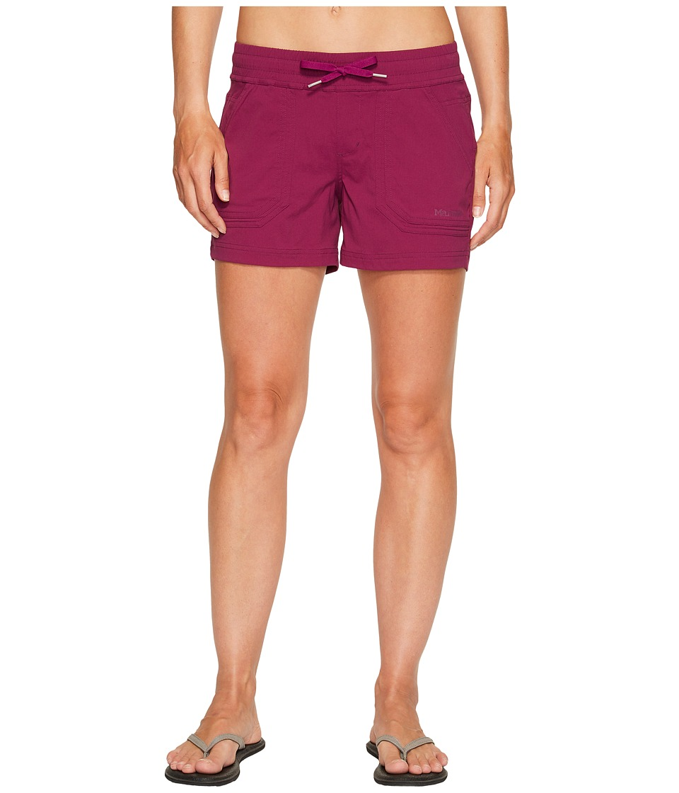 Marmot - Harper Shorts (Deep Plum) Women's Shorts