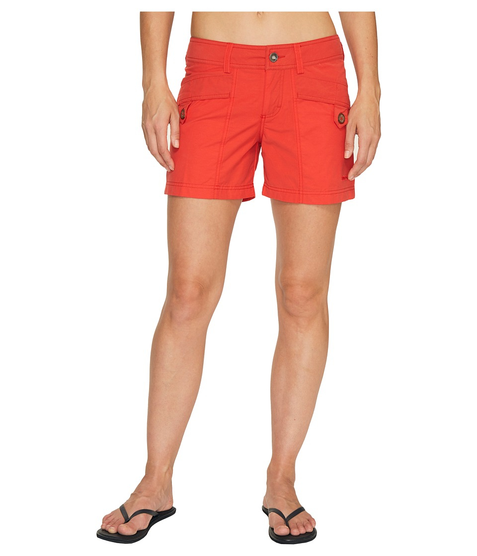 Marmot - Ginny Short (Scarlet Red) Women's Shorts