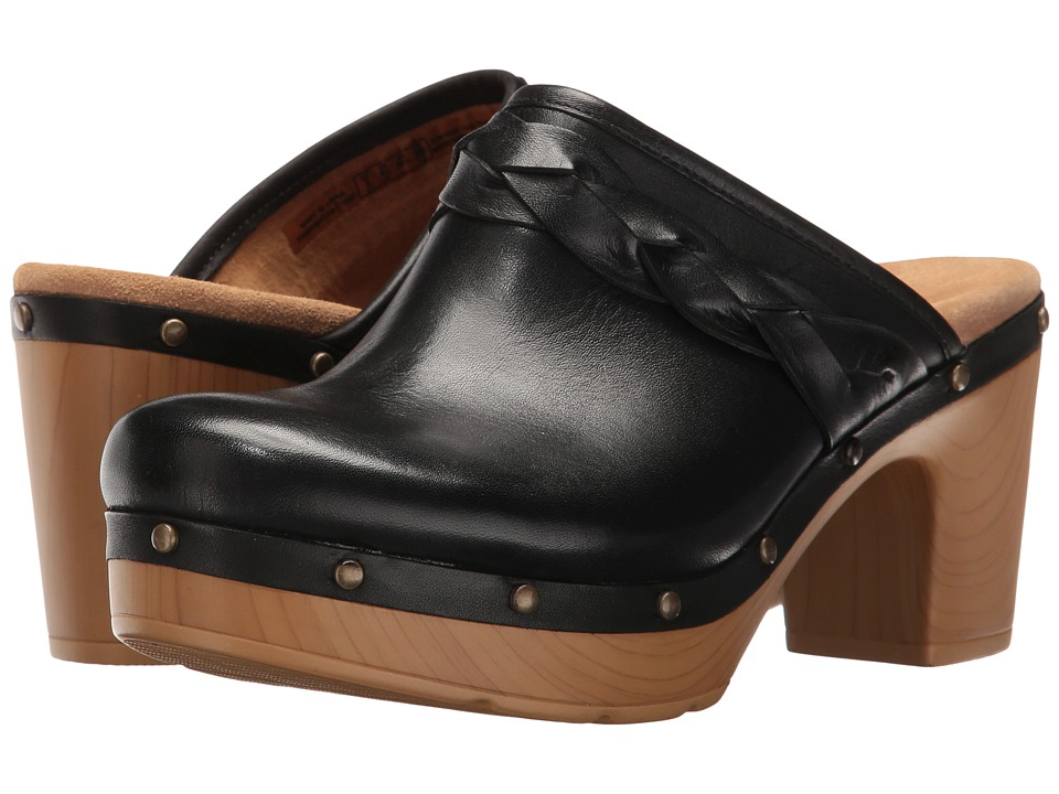 Clarks - Ledella Meg (Black Leather) Women's Sandals
