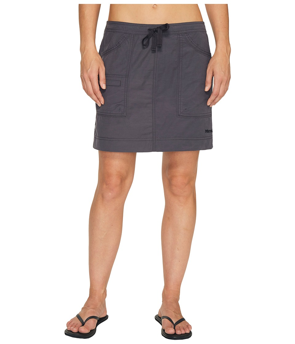 Marmot Ginny Skirt (Dark Charcoal) Women