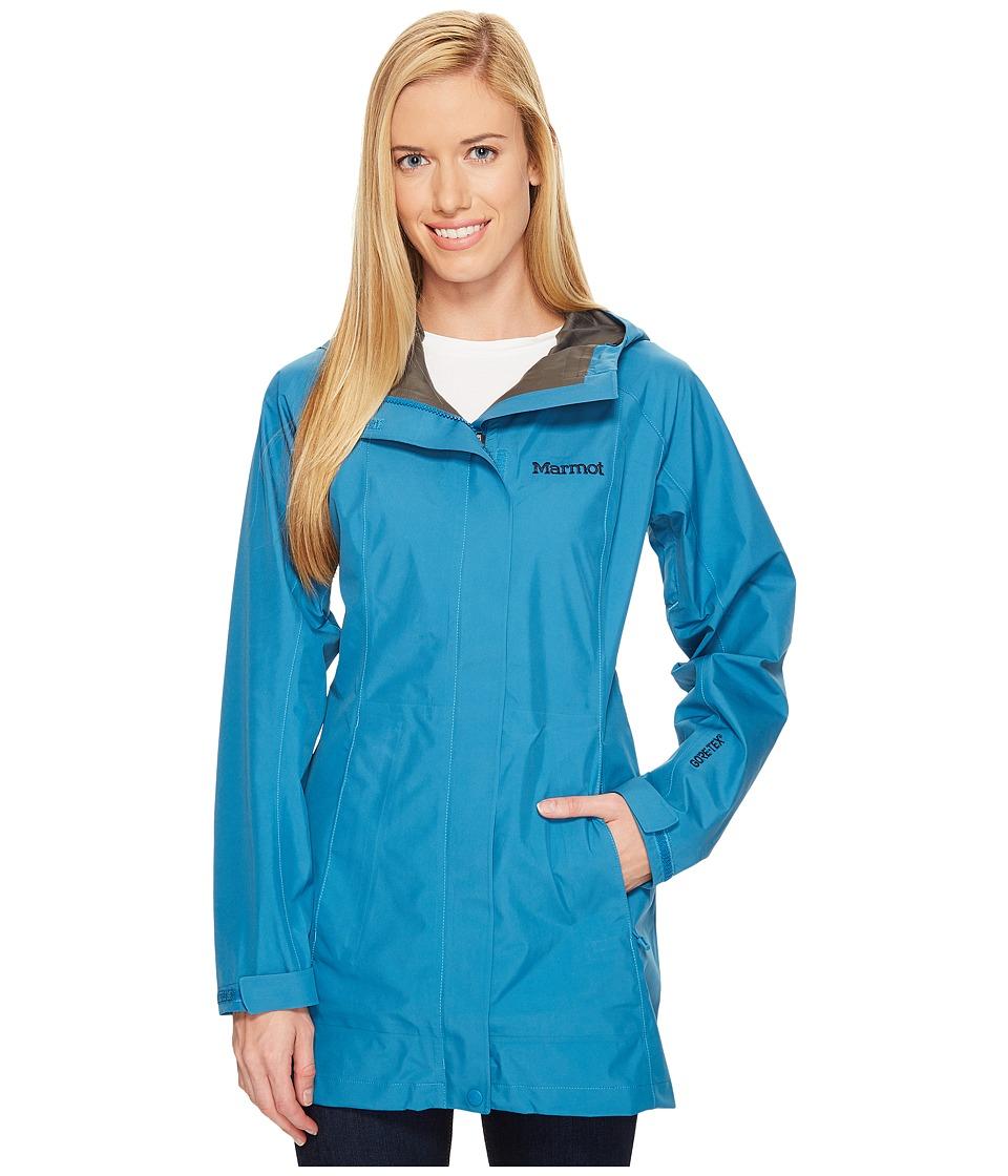Marmot - Essential Jacket (Slate Blue) Women's Coat