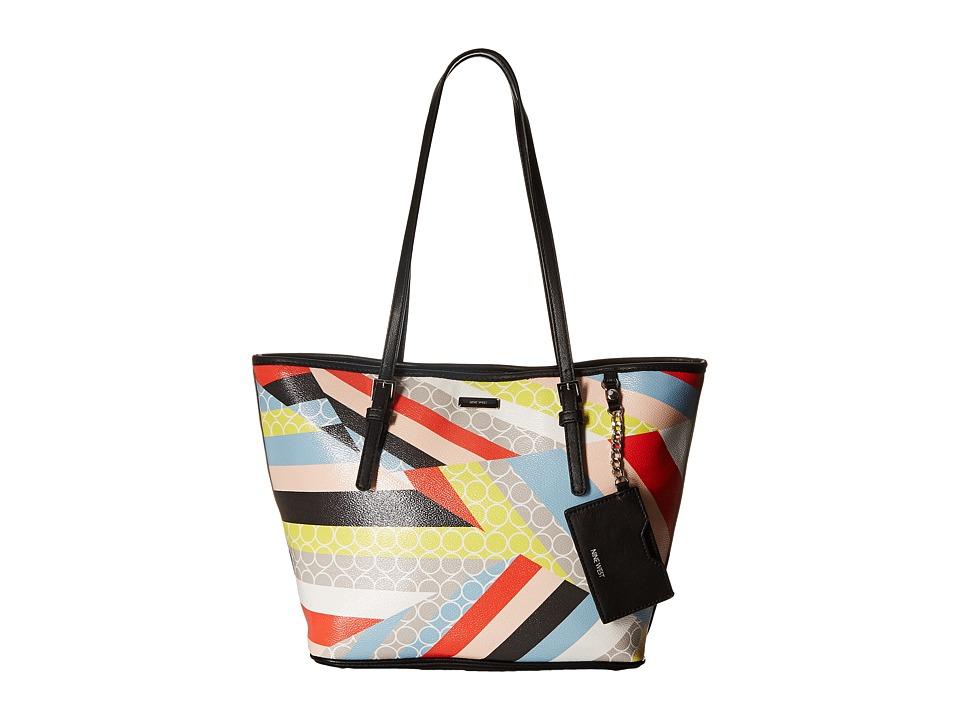 Nine West - Ava Medium Tote (Multi) Tote Handbags