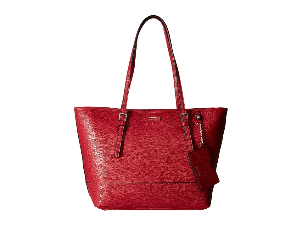 Nine West - Ava Medium Tote (Cassis Red) Tote Handbags