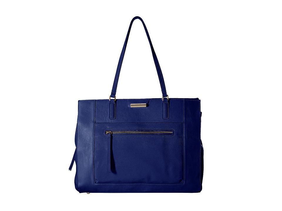 Nine West - Just Zip It Tote (India Ink) Tote Handbags