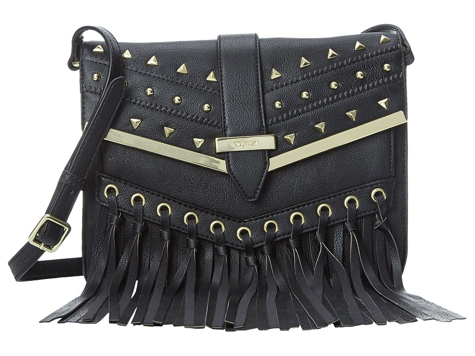 Nine West - Bohemian Breeze Small Crossbody (Black) Cross Body Handbags