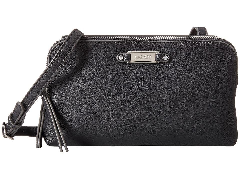 Nine West - Elsie Medium Crossbody (Black) Cross Body Handbags
