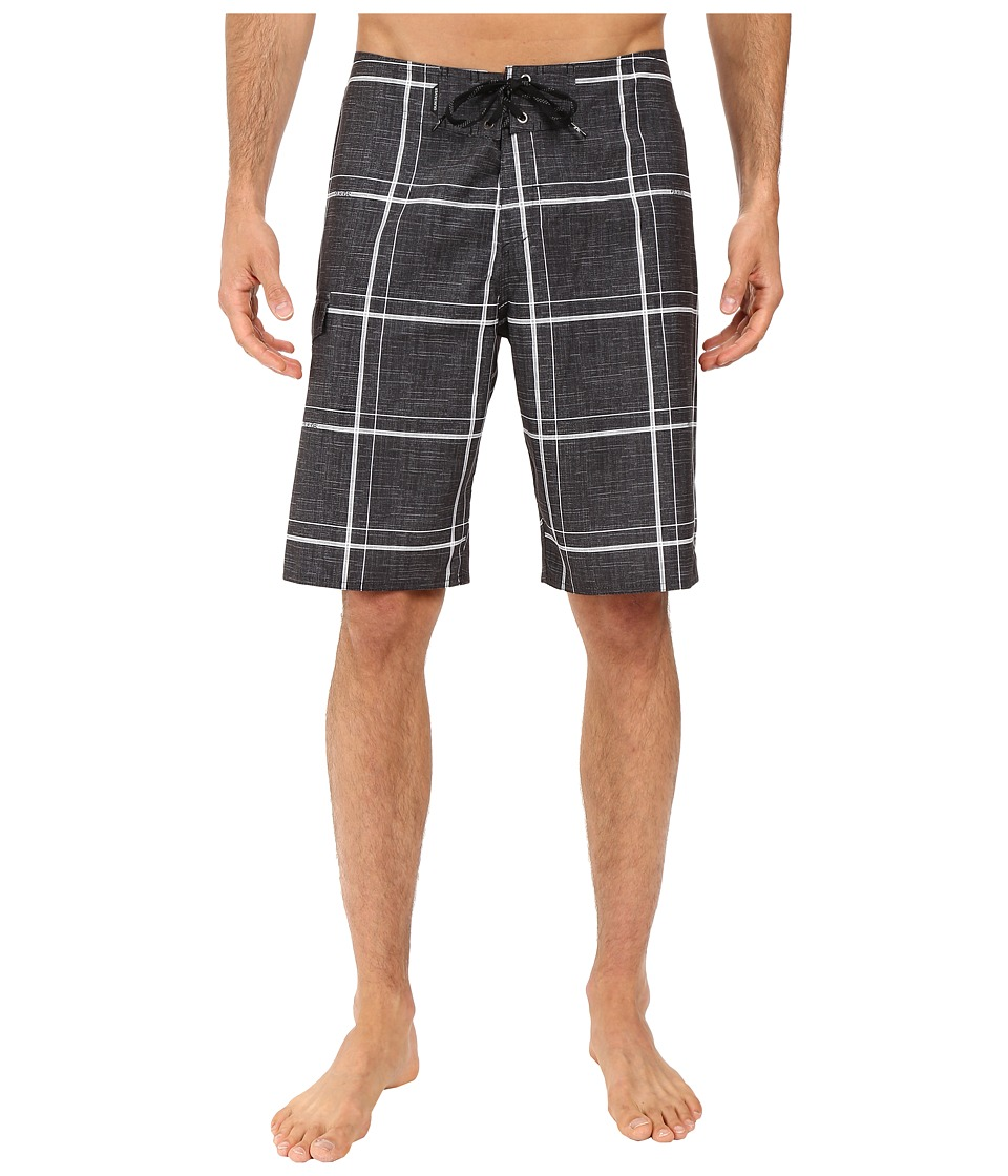 Quiksilver - Electric 21 Boardshorts (Black) Men's Swimwear