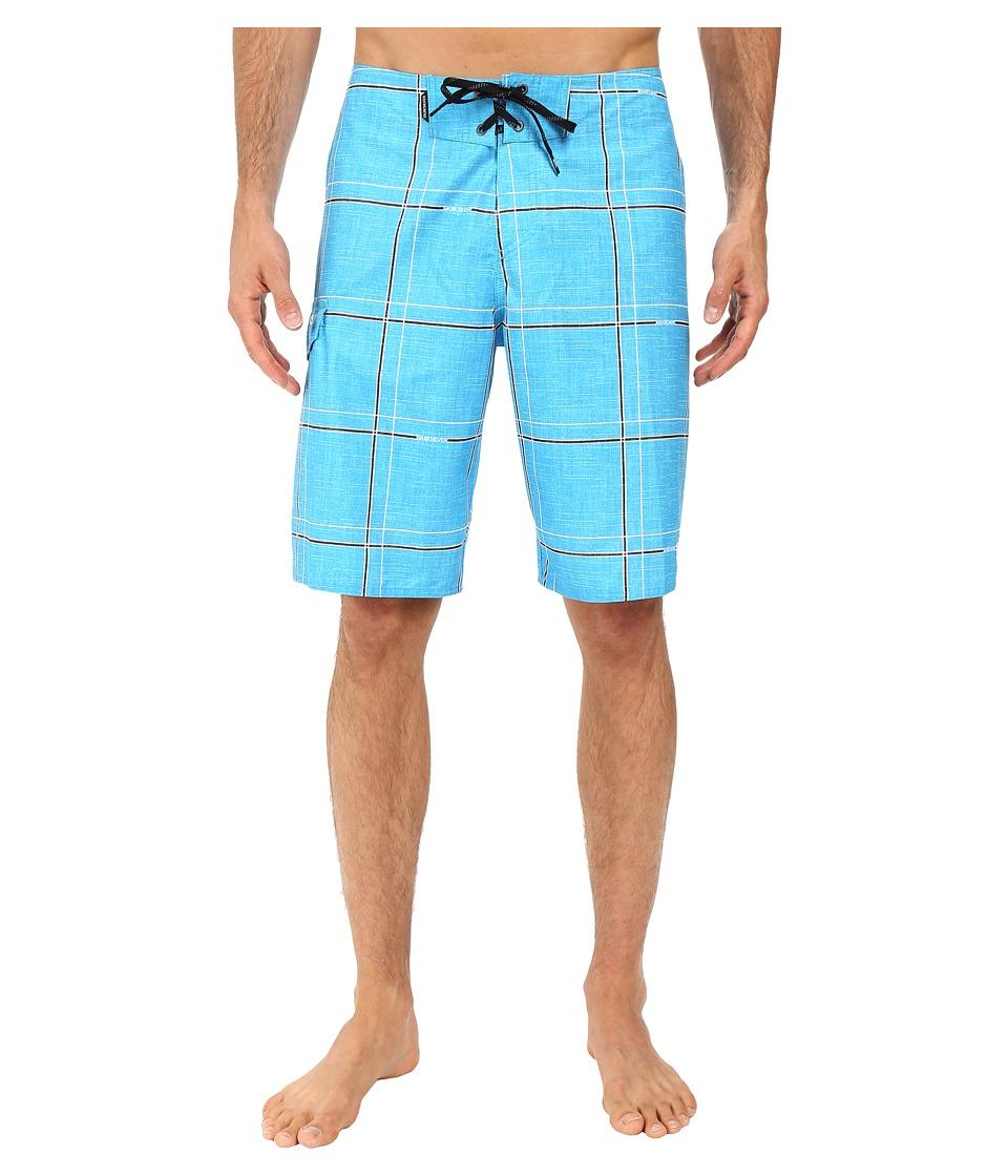 Quiksilver - Electric 21 Boardshorts (Hawaiian Ocean) Men's Swimwear
