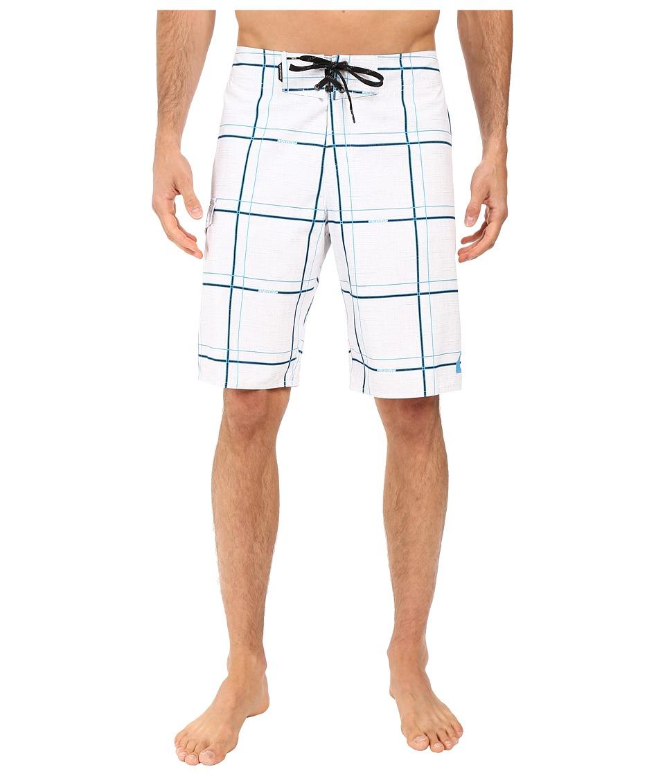 Quiksilver - Electric 21 Boardshorts (White) Men's Swimwear