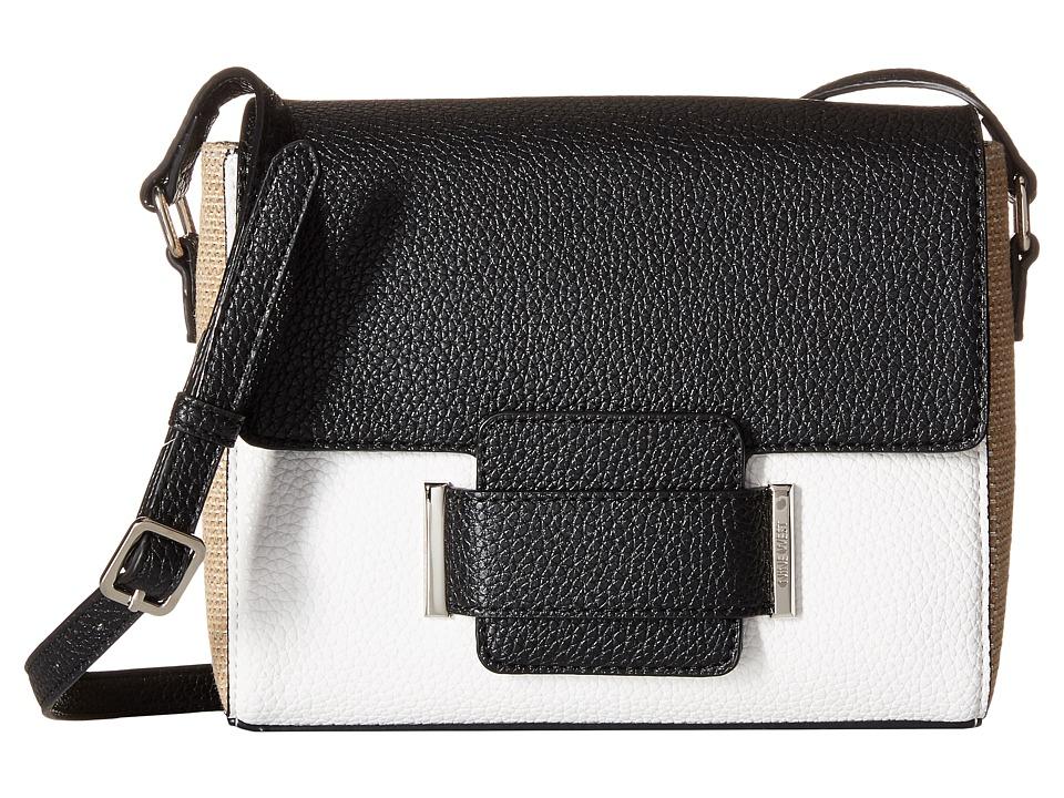 Nine West - Out of Pocket Medium Crossbody (Natural Linen) Cross Body Handbags