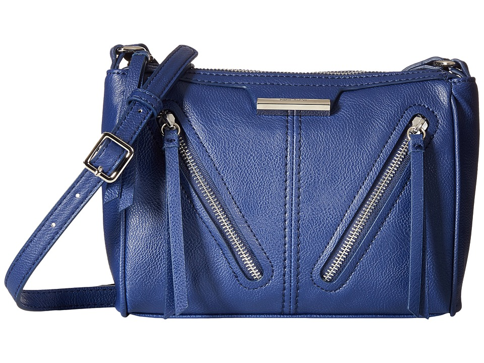 Nine West - Just Zip It Medium Crossbody (India Ink) Cross Body Handbags
