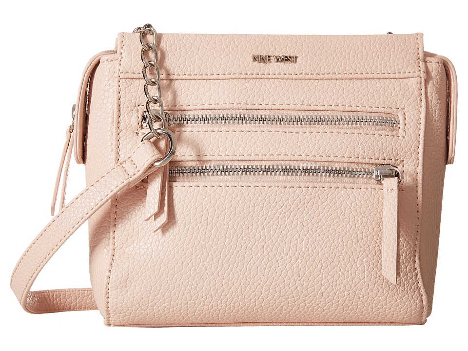 Nine West - Zip Zip Small Crossbody (Cameo Rose) Cross Body Handbags