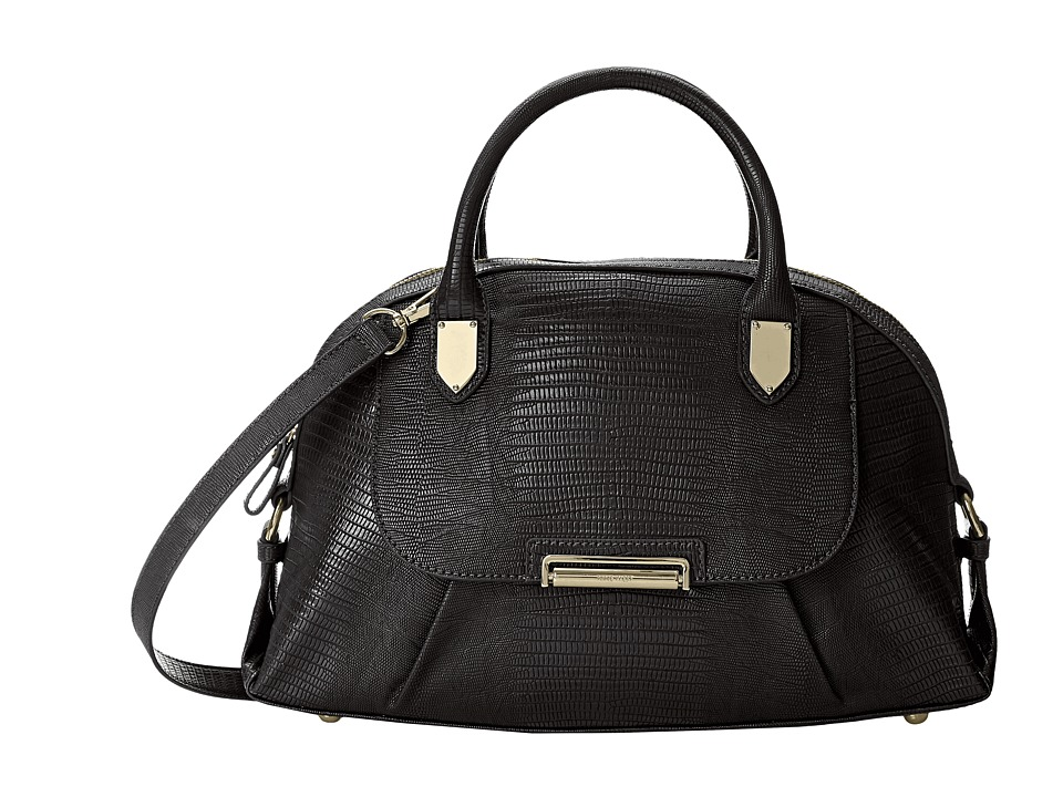 Nine West - Winners Circle Medium Satchel (Black) Satchel Handbags
