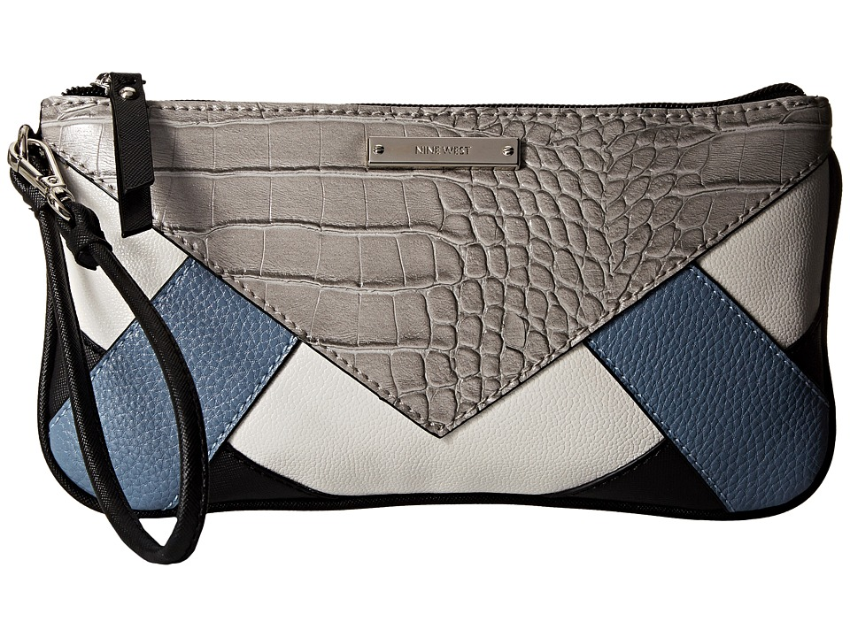 Nine West - Internal Affairs Wristlet (Cobblestone Grey) Wristlet Handbags