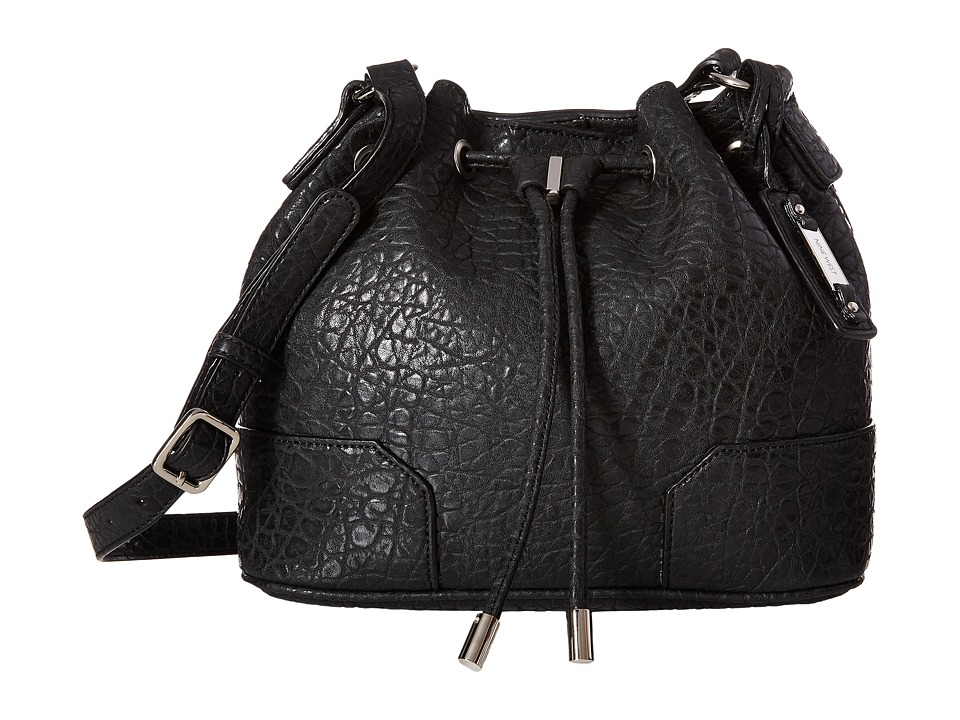 Nine West - Frankie Medium Bucket Bag (Black Multi) Handbags