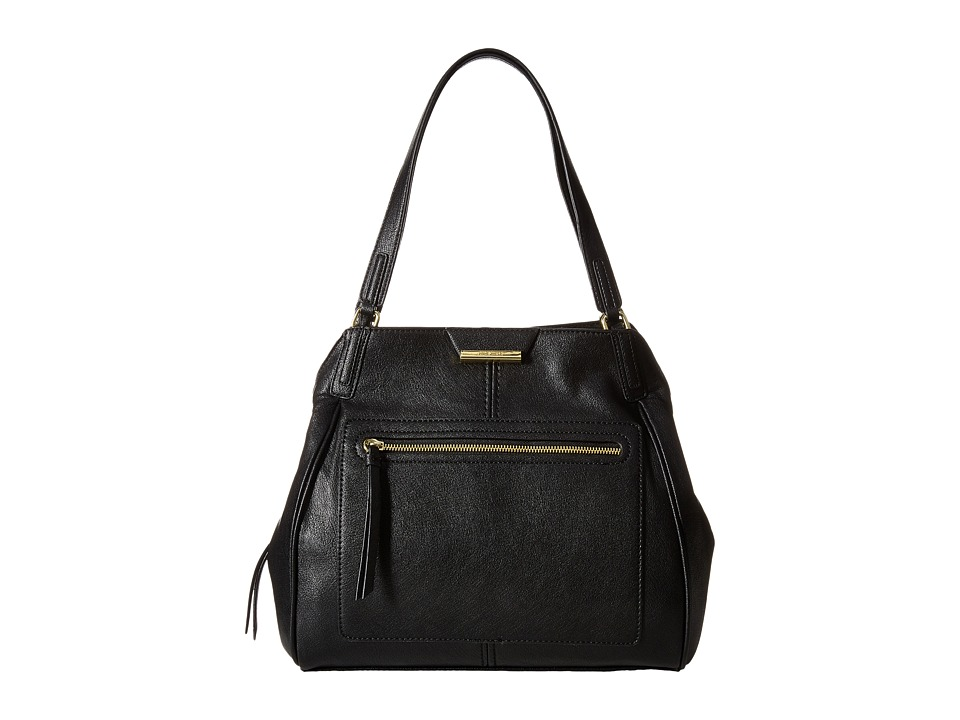 Nine West - Just Zip It Large Shoulder Bag (Black) Shoulder Handbags