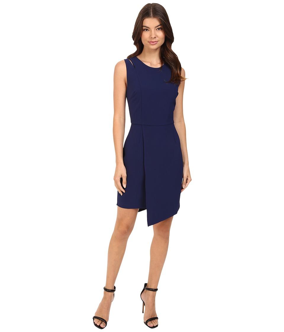 Adelyn Rae - Sleeveless Sheath Dress (Navy) Women's Dress