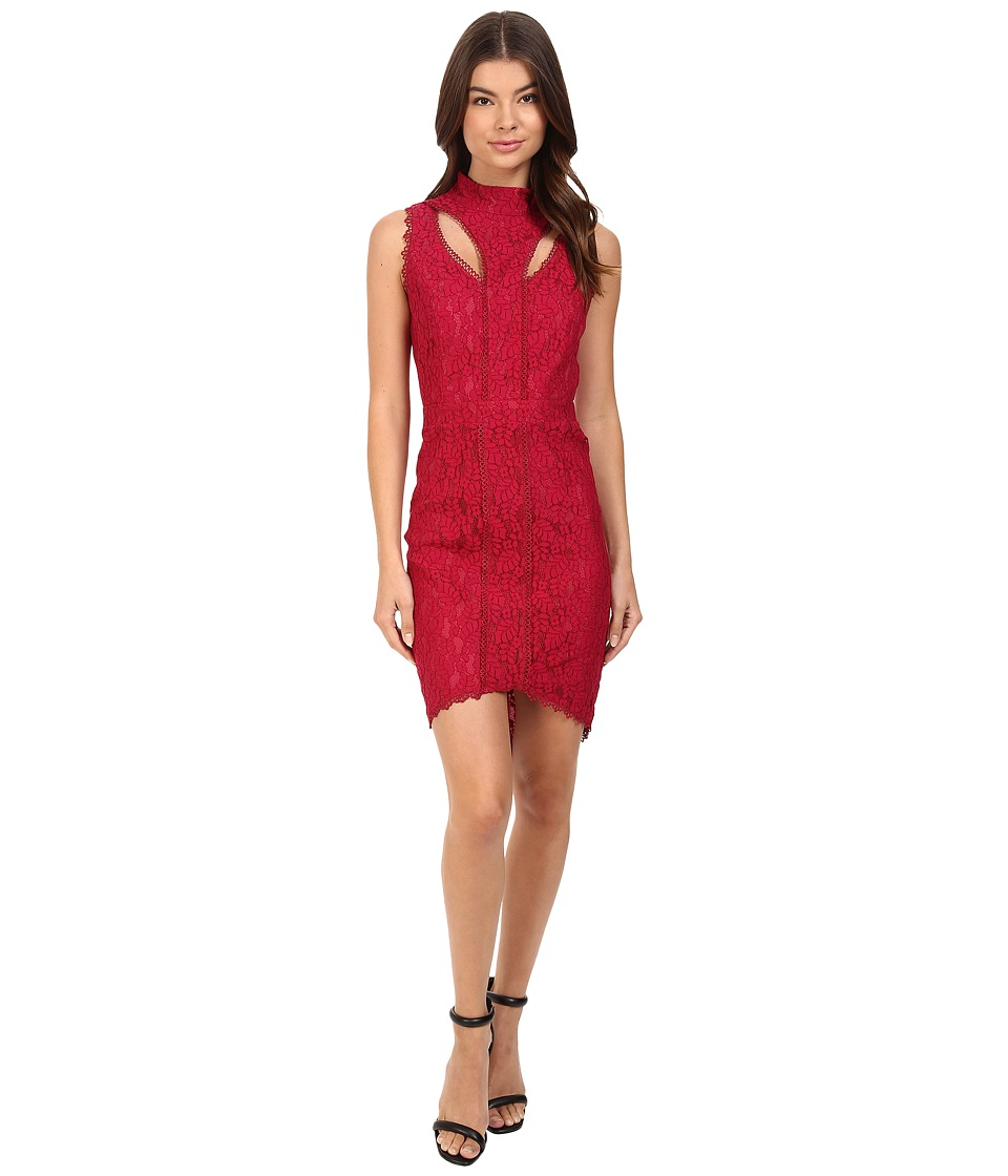 Adelyn Rae - Sleeveless Sheath Dress (Berry) Women's Dress