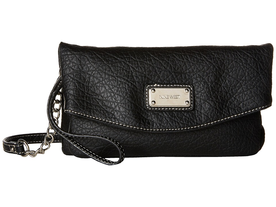 Nine West - Tunnel Crossbody (Black) Cross Body Handbags