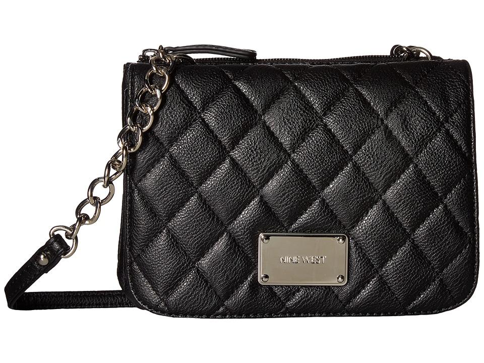Nine West - Highbridge Crossbody (Black) Cross Body Handbags