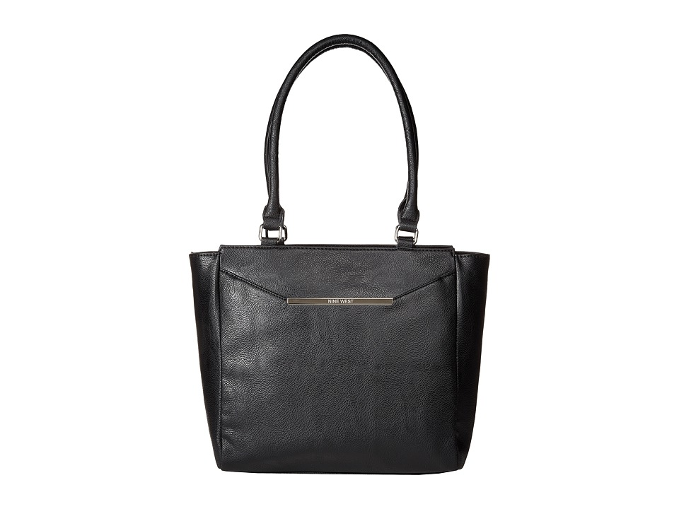 Nine West - Bar Pack Tote (Black/Black) Tote Handbags