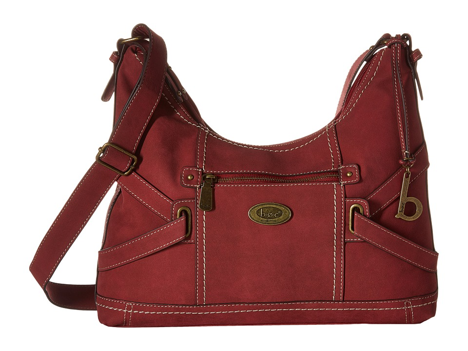 b.o.c. - Parkslope Crossbody (Burgundy) Cross Body Handbags