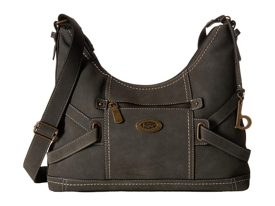 b.o.c. - Parkslope Crossbody (Charcoal) Cross Body Handbags