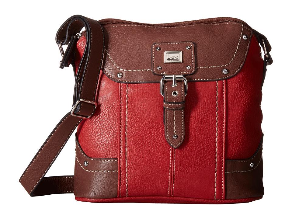 b.o.c. - Crawford Crossbody (Pimento/Walnut) Cross Body Handbags