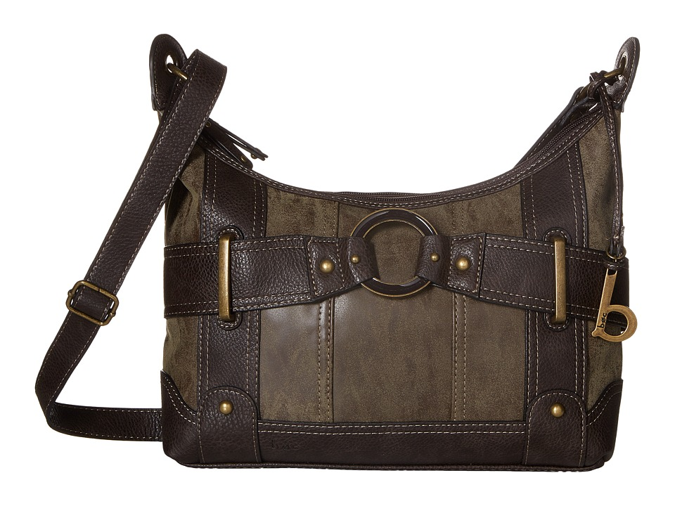 b.o.c. - Stanwyk Crossbody (Chocolate/Chocolate) Cross Body Handbags