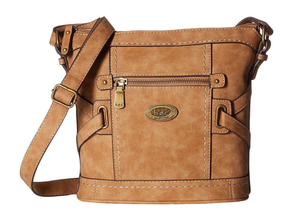 b.o.c. - Park Slope Crossbody (Saddle) Cross Body Handbags