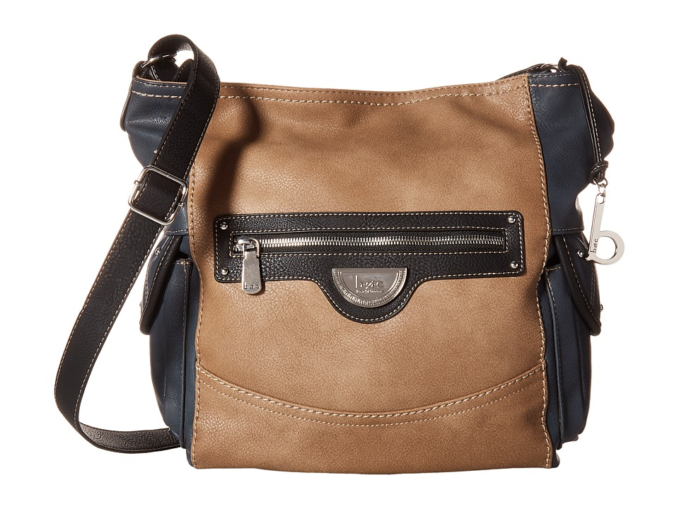 b.o.c. - Fairview Crossbody (Charcoal Multi) Cross Body Handbags