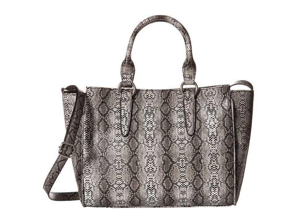 Nine West - Serpent Sleak Convertible Satchel (Brown Multi) Satchel Handbags