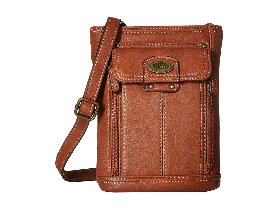 b.o.c. - Hammond Crossbody (Saddle) Cross Body Handbags