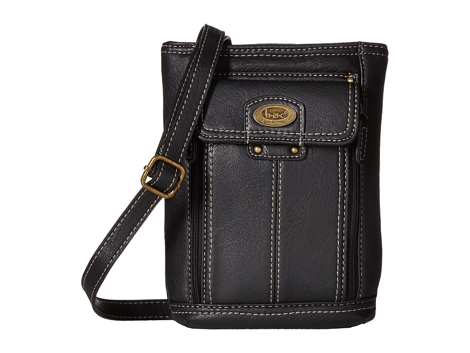 b.o.c. - Hammond Crossbody (Black) Cross Body Handbags