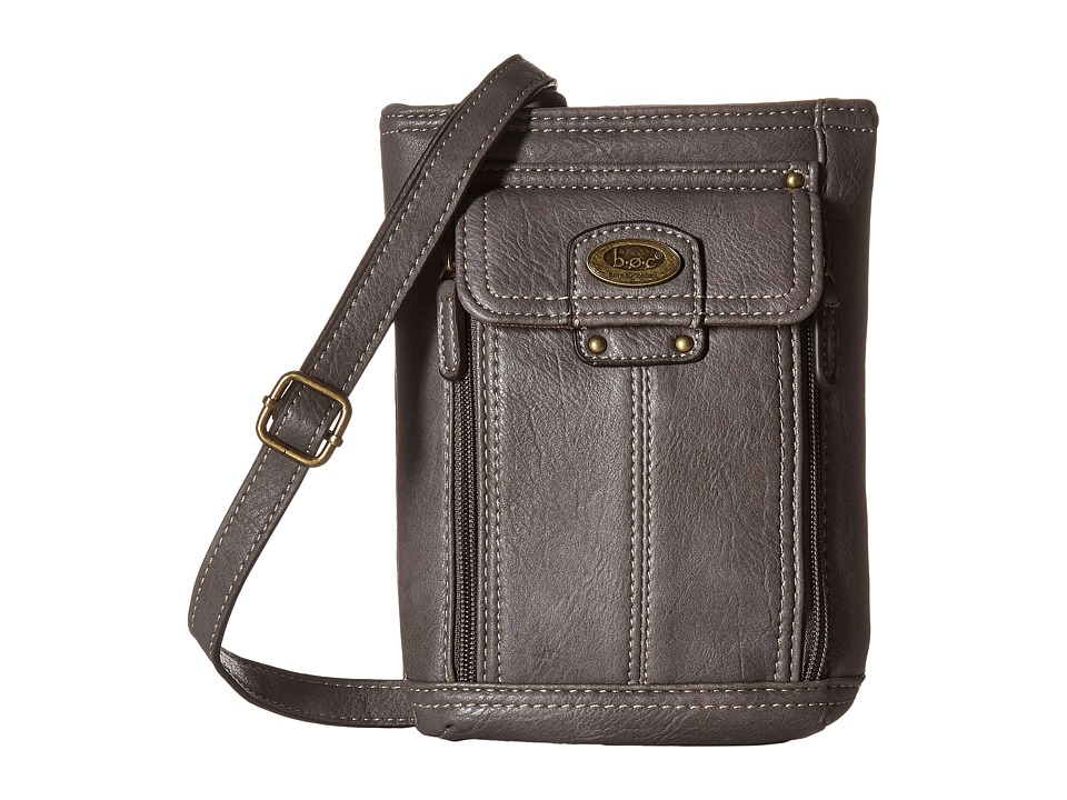 b.o.c. - Hammond Crossbody (Charcoal) Cross Body Handbags