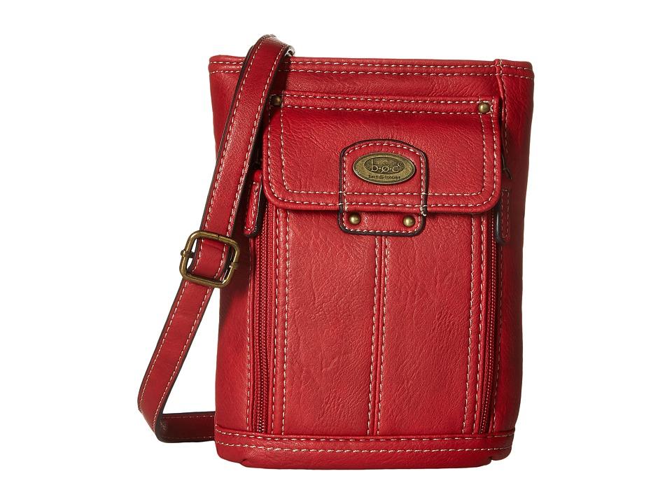 b.o.c. - Hammond Crossbody (Pimento) Cross Body Handbags