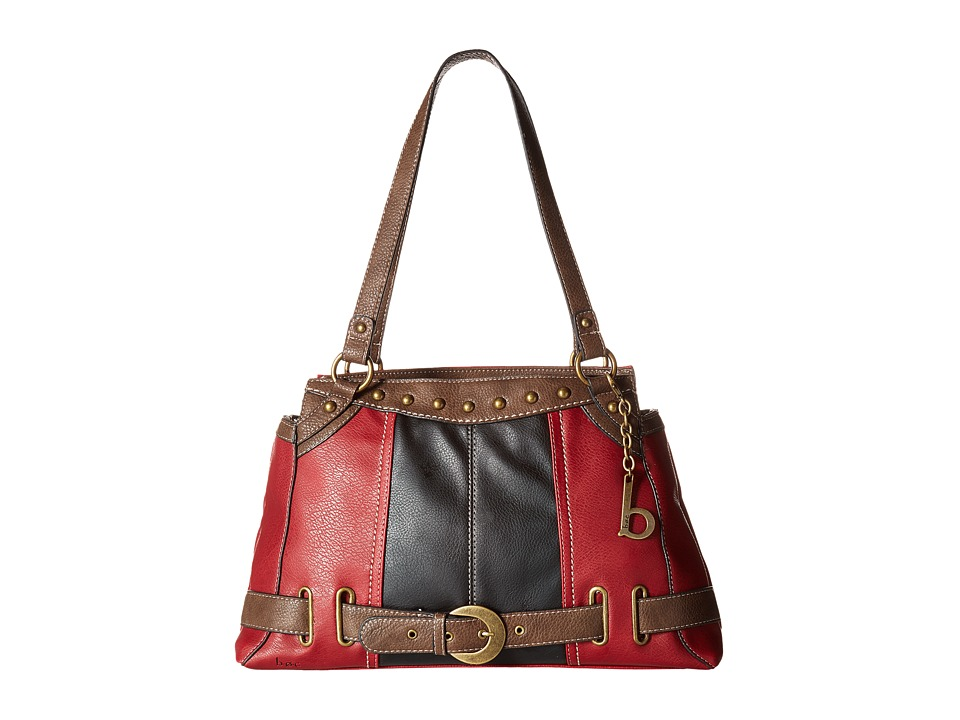 b.o.c. - Portman Tote (Burgundy/Black/Chocolate) Tote Handbags