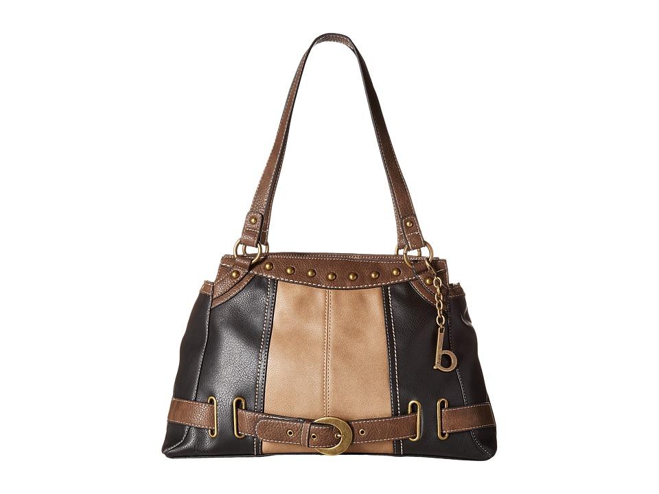b.o.c. - Portman Tote (Black/Mink/Chocolate) Tote Handbags
