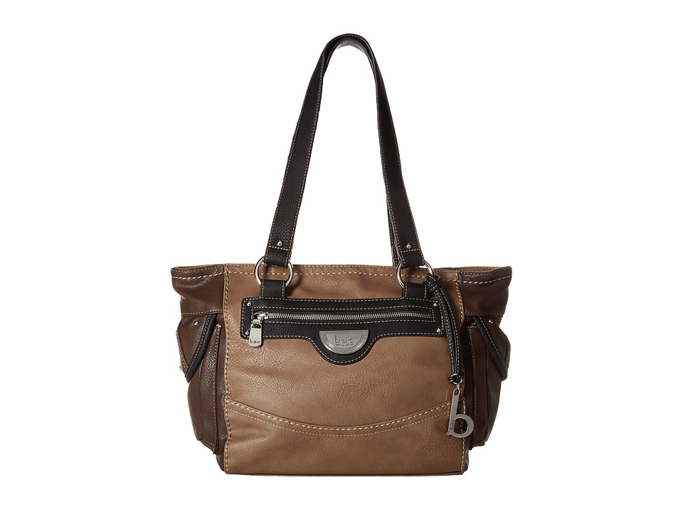 b.o.c. - Fairview Tote (Black/Mink/Walnut) Tote Handbags