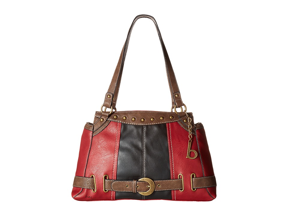 b.o.c. - Portman Tote (Saddle/Black/Chocolate) Tote Handbags