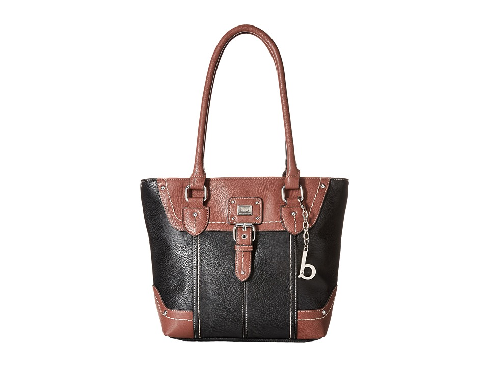 b.o.c. - Crawford Tote (Black/Walnut) Tote Handbags