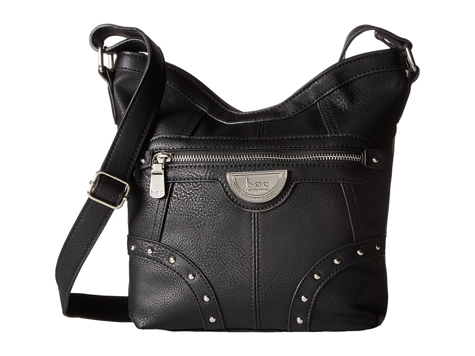 b.o.c. - Aurora Crossbody (Black) Cross Body Handbags