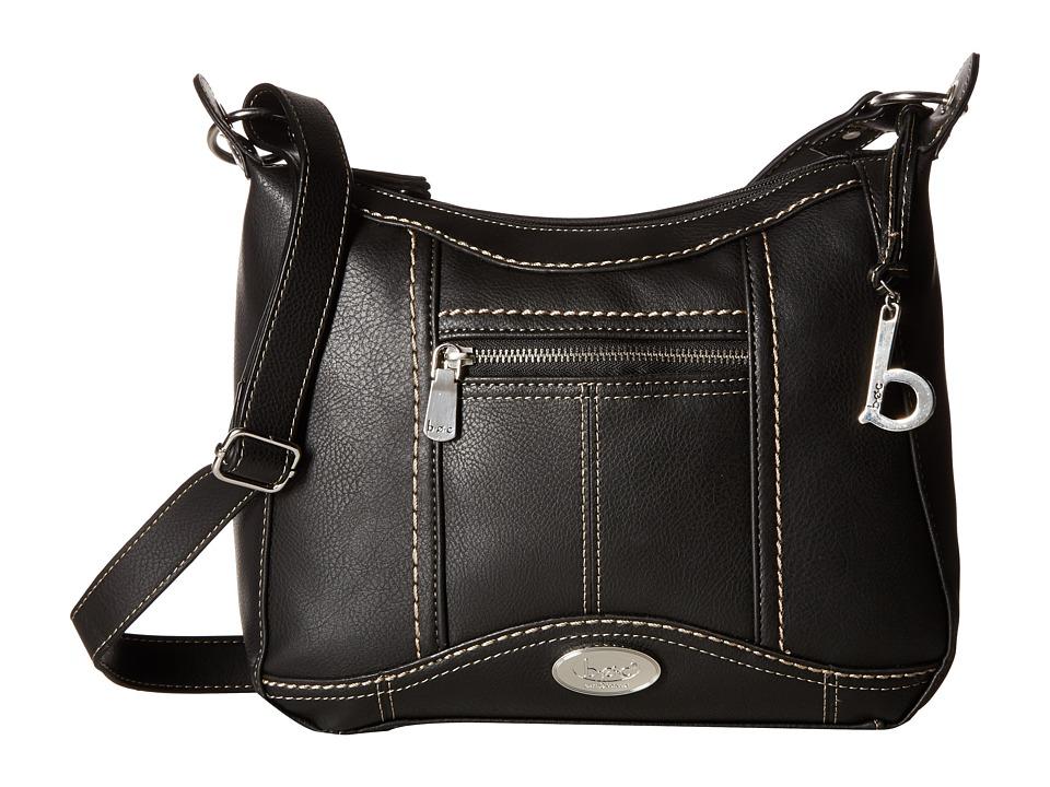 b.o.c. - Bancroft Crossbody (Black) Cross Body Handbags
